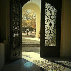Mediterranean Front Doors by Lee Ann's Home Design