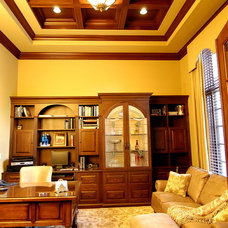 Traditional Home Office by Foran Interior Design