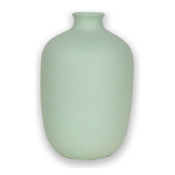 Matte Mint Bud Vase - Add fresh flowers in a bud vase to your powder room, and you're ready for guests.