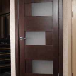 Modern Interior Doors Solid Wood Interior Door With