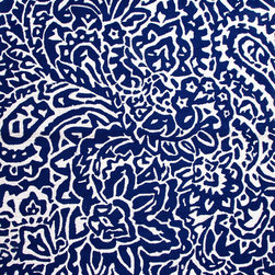 Jaipur Rugs - Abstract Pattern Blue Indoor/ Outdoor Rug - BA03, 9x12 - You've created the perfectly simple, perfectly refined space and now you're looking for just the right rug to serve as a focal point. Here it is, in stunning royal blue and a swirling, abstract print. Its polyester weave will last for years and stay sharp and crisp with regular vacuuming and occasional cleaning.