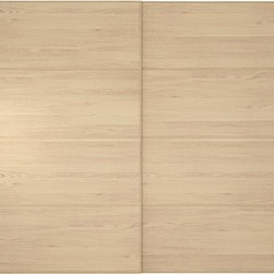 IKEA of Sweden - PAX MALM Pair of sliding doors - Pair of sliding doors, white stained oak