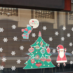 Holiday Wall Stickers - Size