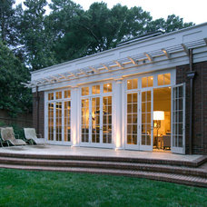Traditional Patio by Pursley Dixon Architecture