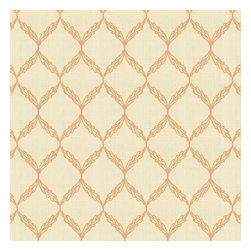Beige Embroidered Trellis Fabric - Beige trellis crewel embroidered on cream cotton for a look that's classic with a touch of casual.Recover your chair. Upholster a wall. Create a framed piece of art. Sew your own home accent. Whatever your decorating project, Loom's gorgeous, designer fabrics by the yard are up to the challenge!