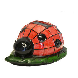 Pier Surplus - Solar Lighted Ladybug Accent Light -- Landscape Ornament #SO10247 - Solar Lights are a perfect way to enhance safety, nighttime aesthetics, accessibility, and beauty to your yard. Using high quality materials, our solar lights will provide durability and long life for whether being used for a special occasion or light up your flower bed.