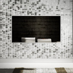 White Horse Laliberte glass tile mosaic - White Horse Laliberte.