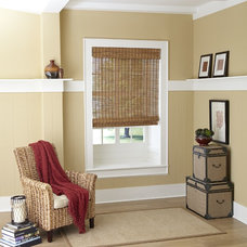Eclectic Roman Shades by American Blinds Wallpaper and More