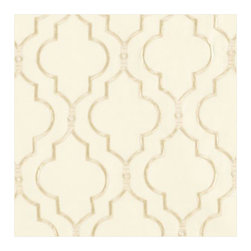 Firenze Embroidered Panel, Ivory - This Firenze embroidered set of panels will add a bit of elegance. I like the thin, almost gauzy material.