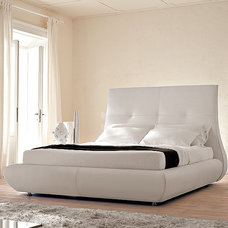 Modern Beds Matisse Leather Bed By Cattelan Italia