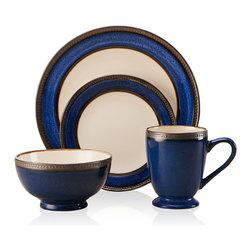 Pfaltzgraff Everyday Catalina 16-piece Dinnerware Set Cobalt -
