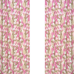 Camo Pink Window Panels (Set of 2)