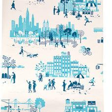 Eclectic Wallpaper by Famille Summerbelle