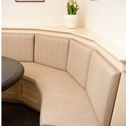 Furniture - Custom made banquette for eat-in kitchen area, Philadelphia, photographer:  Annie Hosfeld