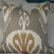 Contemporary Decorative Pillows by ZZZ Boutique