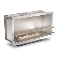 EcoSmart Fire - EcoSmart Fire Firebox 1000SS - The single sided, zero clearance Firebox 1000SS offers the versatility to integrate effortlessly in commercial and domestic settings ranging from homes, units and townhouses to offices, restaurants and bars.