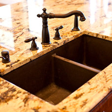 Traditional Kitchen Sinks by Joseph Paul Homes