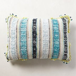 Anthropologie - Dian Jacquard Pillow - *Bottom zip