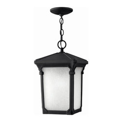 Hinkley Lighting - Hinkley Lighting 1352MB-LED Stratford Museum Black Outdoor Lantern - Hinkley Lighting 1352MB-LED Stratford Museum Black Outdoor Lantern