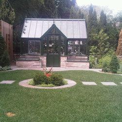 Victorian Greenhouse - Hartley Botanic, photo of a Hartley Victorian Terrace Greenhouse
