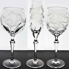 asian glassware by Gracious Style