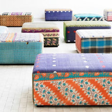 Eclectic Footstools And Ottomans by The Future Perfect