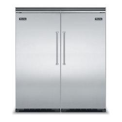 "Viking 72"" Refrigerator -"