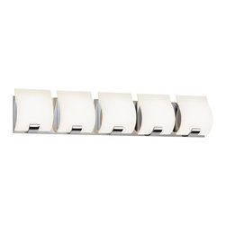 Sonneman - 3885.13 Satin Nickel Aquo 5 Light ADA Compliant Bathroom Bath Bar - Product Lamping Technology: Bulb Base - G9 : A bi pin or 'bipin socket', G9 bulbs have a pin spread of 9 mm and are used mostly in 120V or 230V fixtures with halogen bulbs. Compatible Bulb Types: G9 Bulb base uses primarily a Halogen bulb but is also available as Fluorescent, LED, and Xenon / Krypton.