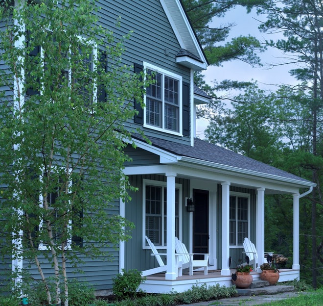 Traditional Exterior by Peregrine Design Build