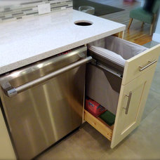 Contemporary Kitchen Cabinets by Factory Builder Stores