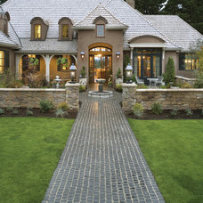 Traditional  by Alan Mascord Design Associates Inc