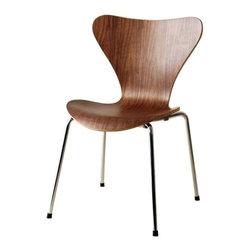 Jays Dining Chair, Walnut -