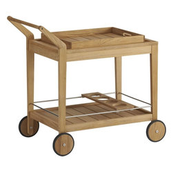 Regatta Bar Cart - My husband and I absolutely love to entertain, so I think a bar cart is a must. I like the simple structure of this one, and I love that it's easy to move around.
