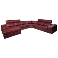 Scandinavian Designs - Sectionals - Callista Leather Sectional