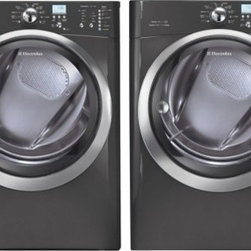Electrolux - EIFLS60LT 4.3 Cu. Ft. Front Load Washer + EIMED60LT 8.0 Cu. Ft. Capacity Front L - The Electrolux EIFLS60J 43 Cu Ft front load washer with IQ Touch controls featuring Perfect Steam wash fabrics for whiter whites and improved stain removal The washer offers 11 Specialty cycles including Jeans Pet Beds and Fast Steam Clean so you can...