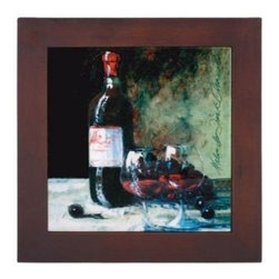 Franmara - 8 Inch Ceramic Trivet with Wine Bottle and Two Glasses Art Image - This gorgeous 8 Inch Ceramic Trivet with Wine Bottle and Two Glasses Art Image has the finest details and highest quality you will find anywhere! 8 Inch Ceramic Trivet with Wine Bottle and Two Glasses Art Image is truly remarkable.