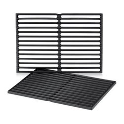 Weber 7526 Porcelain-Enamel Cast-Iron Cooking Grates - 2 Pack - About Weber GrillsWeber-Stephen Products Co., headquartered in Palatine, Ill., is the premier manufacturer of charcoal and gas grills, grilling accessories, and other outdoor room products. A family-owned business for more than 50 years, Weber has grown to be a leading seller of outdoor grills worldwide.