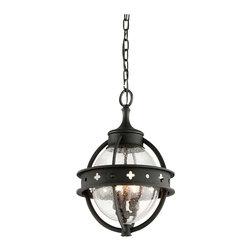 Troy Lighting - Mendocino 3-Light Outdoor Hanging Lantern - Mendocino 3-Light Outdoor Hanging Lantern