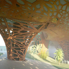 Panama Supercharge is a Dialogue of Mass, Surfaces, Patterns, and Transparency