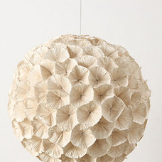 eclectic pendant lighting by Anthropologie