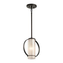 Kichler - Kichler 43320 Berra Single-Bulb Indoor Pendant - Kichler 43320OZ Berra Mini Pendant