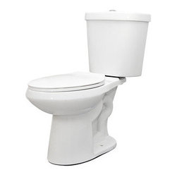 "Schon - Schon SCN2316 Two Piece 1.1/1.6 GPF Dual Flush Elongated Toilet Combo, White - Schon SCN2316 Two Piece 1.1/1.6 GPF Dual Flush Elongated Toilet Combo, White Schon SCN2316 Two Piece 1.1/1.6 GPF Dual Flush Elongated Toilet Combo, White Features: Best flush performance - 1000 MaP score EPA WaterSense Certified 16 1/2"" chair height bowl 2"" fully glazed trapway Large 10"" x 20"" footprint, excellent for retrofitting 12"" rough-in Powerful high performance flush is clog-free Limited Lifetime Warranty Chrome plated top mounted flush button Schon SCN2316 Two Piece 1.1/1.6 GPF Dual Flush Elongated Toilet Combo, White Specifications: ADA: Yes Bowl Height: 16.5 Bowl Shape: Elongated Configuration: 2 Piece Flush Type: Dual Flush Gallons Per Flush: 1.1, 1.2, 1.3, 1.4, 1.5, 1.6 Installation Type: Floor Mounted Material: Vitreous China Product Weight: 82 Rough In: 12 Seat Included: No Soft Close: No Theme: Contemporary / Modern Trapway: 2 Trip Lever Placement: Top WaterSense Certifie"