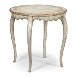 Jonathan Charles - New Jonathan Charles Side Table Gray Painted - Product Details
