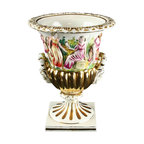 EuroLux Home - Consigned Vintage Hand-Painted Italian Two-Handled - Product Details
