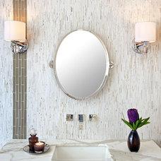 Contemporary Tile by Da Vinci Marble