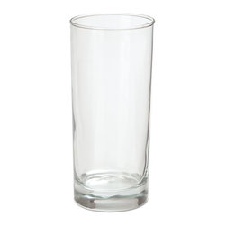 Office Settings - Office Settings Riviera Beverage Glasses, 16oz, Clear, 6/Box - Post-modern, minimalistic design, featuring clean, unadorned lines, perfectly matches contemporary decors. Classic tall and thin as well as short and squat options make Riviera ideal for cocktail service. Fully tempered, break- and shatter-resistant glass.