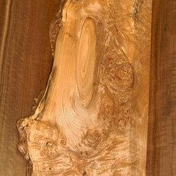 ART PIECES - Western Maple Burl Centerpiece/Shelf