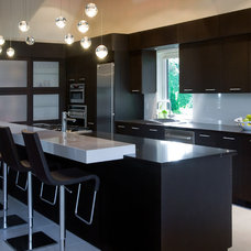 Contemporary Kitchen by site lines architecture inc.