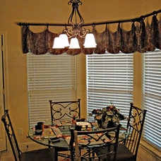 Traditional Window Treatments by Kite's Interiors