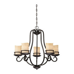 Designers Fountain - Designers Fountain 84785 Lauderhill 5 Light 1 Tier Up Lighting Chandelier - Features: